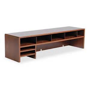 wood 4 shelf unit desk space saver 30w x 12d x 21 1 4h