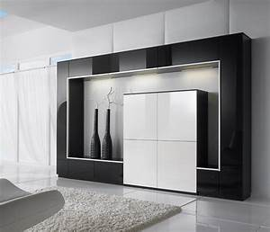 Luxury wall units and media systems wharfside furniture for Living room storage cabinet