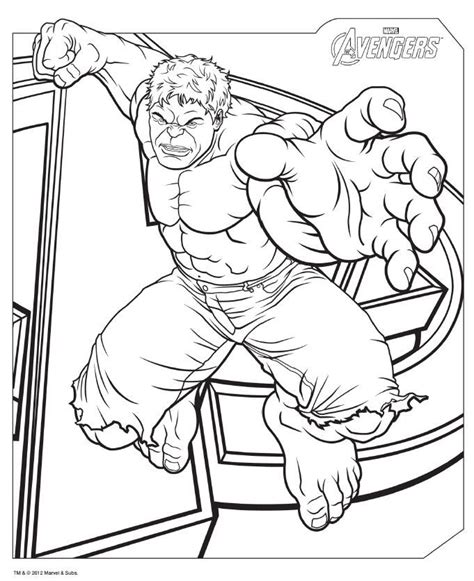 download avengers coloring pages here hulk avengers