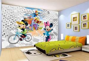 decoration murale chambre d39enfant papier peint tapisserie With tapisserie chambre d enfant