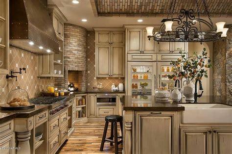 stunning tuscan interior designs tuscany kitchen