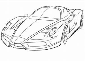 coloriages a imprimer ferrari numero 203282 With smart car convertible