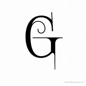 Decorative Alphabet Gallery - Free Printable Alphabets ...