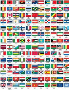 flags of the world with names capital | work ideas ...