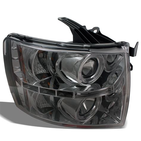 blacked out tail lights fits 07 13 silverado projector headlights smoked blacked