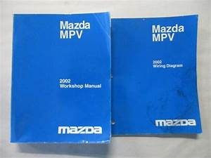 2002 Mazda Mpv Service Workshop Repair  U0026 Wiring Diagrams