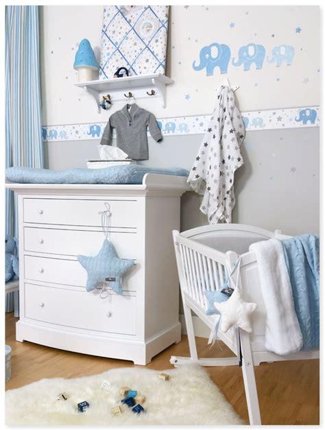 Kinderzimmer Junge Wandgestaltung Blau by Elefanten Boys Blau Grau Dinki Balloon Bb Babyzimmer