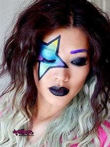 Youtube Punk rock Look | Face Paint ideas, inspiration ...