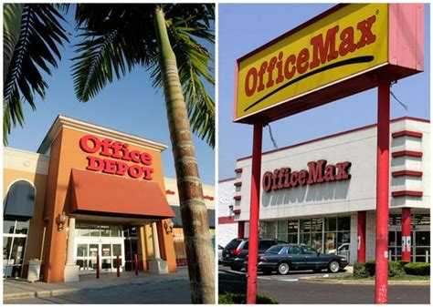 Officemax's .2 Billion Merger With Office Depot Shouldn Exterior Barn Lights Light Grey Chair Red And Green Led Christmas Color Bulbs Vanity Mirror With Ikea Solar Kit Ultra Tents Home Depot Under Counter