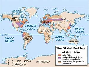 Diagram Showing Acid Rain