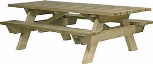 Table Exterieur En Bois : table pique nique en bois berlin pmr ~ Teatrodelosmanantiales.com Idées de Décoration