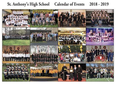 calendar st anthonys high school