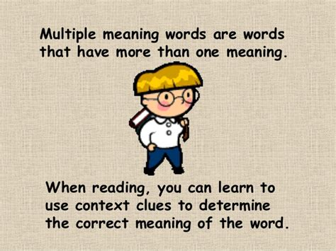 Meaning Of The Word by Meaning Words Ppt
