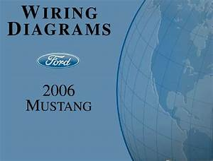 2006 Ford Mustang Wiring Diagrams Schematics Drawings Color Codes Factory Oem