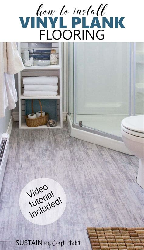 install vinyl plank flooring video tutorial