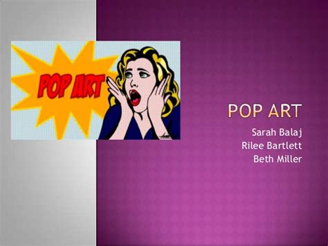 art powerpoint pop powerpoint
