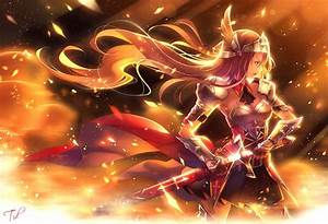 Sword, Anime, Girls, Knights, Original, Characters, Anime, Wallpapers, Hd, Desktop, And, Mobile