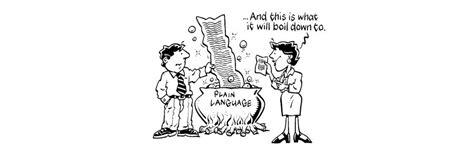 plain languagepicking   words  users coming