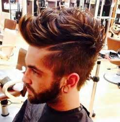 Men Hairstyles with Highlights