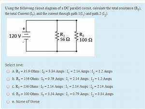 Solved  Using The Following Circuit Diagram Of A Dc Parall