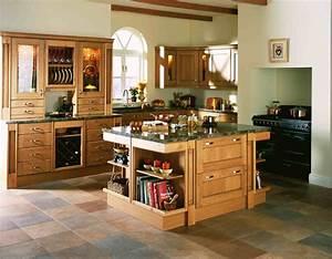 Playful farmhouse kitchen design ideas for retro looks on for Farmhouse kitchen design ideas