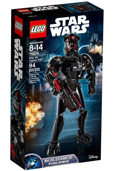 lego  lego star wars elite tie fighter pilot