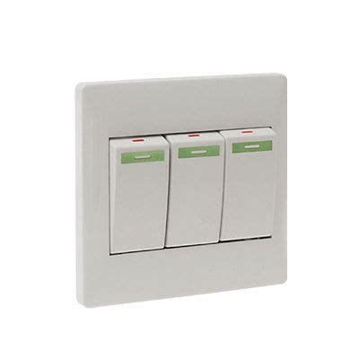 home wall mount light switch plate cover with 3 buttons in switches from lights lighting on