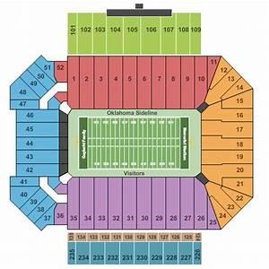 Oklahoma Memorial Stadium Tickets Norman Ok Event