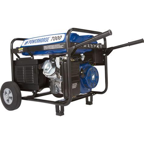 Generator Tool by Free Shipping Powerhorse Portable Generator 7 000