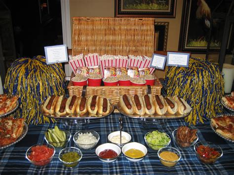 Hot Dog Bar More Is More Mom