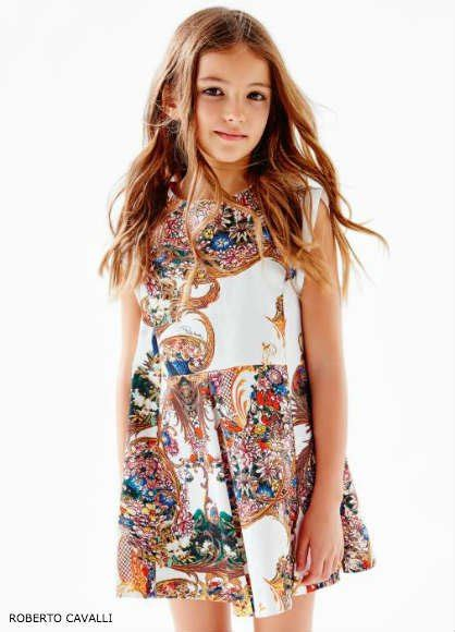 roberto cavalli junior girls gold baroque trend dashin