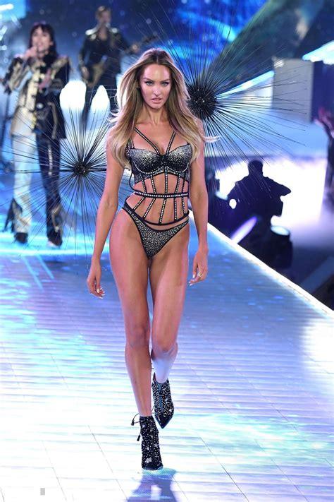 Candice Swanepoel 2018 Vs Fashion Show Runway • Celebmafia