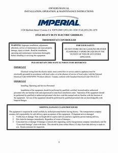 Imperial Adjustable Thermostatic Fan Control Wiring Diagram