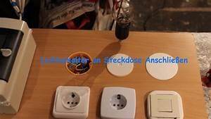 Steckdose Mit Lichtschalter Schalten : lichtschalter an steckdose anschlie en youtube ~ Orissabook.com Haus und Dekorationen