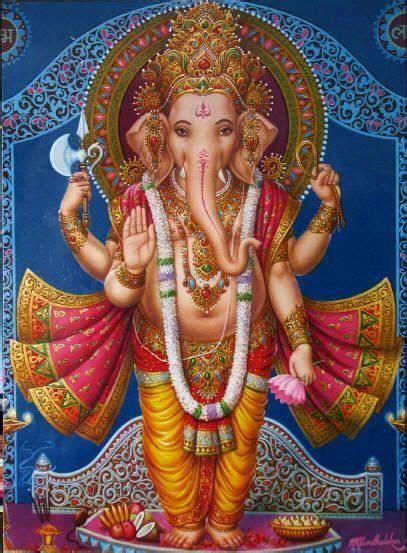 standing ganesh giving the gesture of blessings via stephen knapp ganesha standing ganesh giving the gesture of blessings via stephen knapp com ganesha