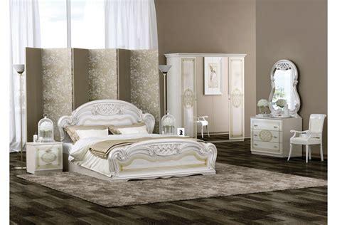 Schlafzimmer Barock Stil Lara In Beige 6-teilig Italien