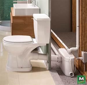 Install A Basement Bathroom Without The Need To Break Concrete  The Sanipro Macerating Toilet
