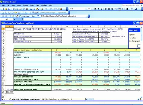 loan repayment template excel exceltemplates
