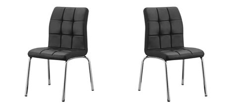 chaise cuisine noire chaise pliante noire couture