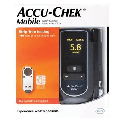 accuchek mobile buy accu chek mobile blood glucose meter kit at