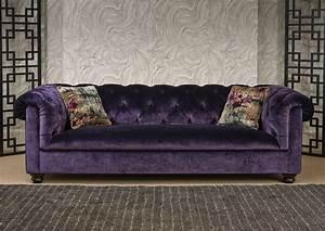 Velvet purple sofa conceptstructuresllccom for Purple velvet sectional sofa