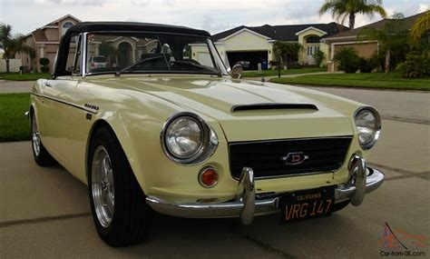 1967 Datsun Fairlady by Datsun 1600 Roadster 1967 1 2 Fairlady California Black