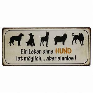 Leben Ohne Konsum : blechschild ein leben ohne hund ist m glich aber sinnlos plus minus shop ~ Watch28wear.com Haus und Dekorationen