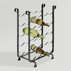 Cost Plus World Market Enclume 20 Bottle Wine Storage Rack