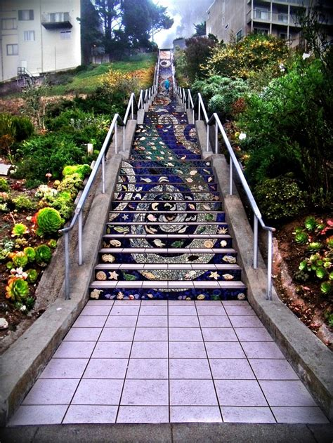 16th Avenue Tiled Steps Address by 109 Best Ideas About Stairs Mosaic Whimsey Humorous On