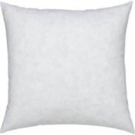 walmart pillow inserts 24 quot x 24 quot 95 feather 5 square pillow insert