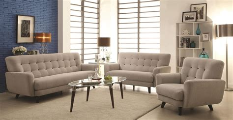 grey living room sets maguire light grey living room set from coaster 504771