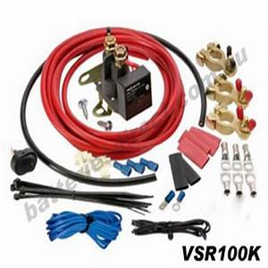 Projecta Vsr100k Dual Battery Kit