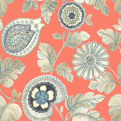calypso wallpaper  boho rhapsody  seabrook lelands