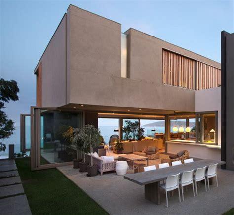 rumah minimalis modern model desain villa mewah  unik